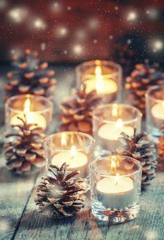 Confira a galeria com inspirações de decoração natalina para as comemorações