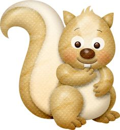 View album on Yandex. Forest Animals, Woodland Animals, Woodland Forest, Wild Animals, Clip Art Pictures, Cute Pictures, Squirrel Illustration, 1 Clipart, Cute Animal Clipart