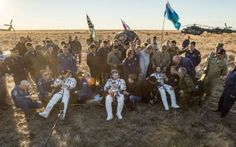 Tre astronauti sono tornati dalla Stazione Spaziale Internazionale terminando la Expedition 48 L'astronauta Jeff Williams e i cosmonauti Oleg Skripochka and Alexey Ovchinin sono tornati sulla Terra sulla navicella spaziale Soyuz TMA-20M, atterrata senza problemi in Kazakistan. #expedition48 #nasa #roscosmos