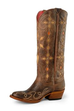 Macie Bean Yard Sally Cowgirl Boots - HeadWest Outfitters