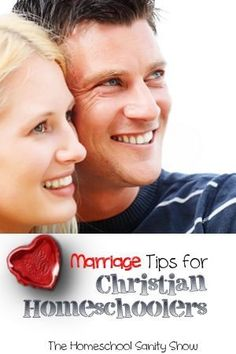 Marriage Tips for Christian Homeschoolers - a podcast you'll want to listen to together.