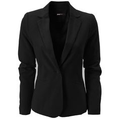 Gina Tricot - Carrie blazer Black (9000) ❤ liked on Polyvore