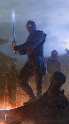 3D Art: Ninja - 3D, FantasyCoolvibe – Digital Art
