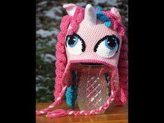 Little pony crochet hat pics from the web Gorro de little pony fotos de la web