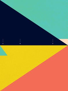 1 | Abstract Posters Conceal Maps To Legendary Surf Spots | Co.Design: business + innovation + design