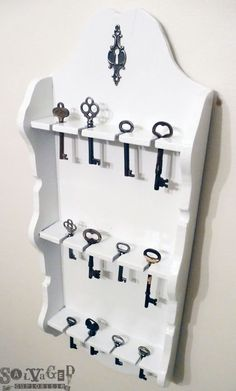 Image result for upcycled spoon rack