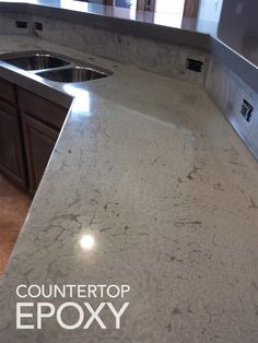 Two More Countertop Options: Epoxy and Polyurea