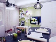 Дизайн квартиры — студии площадью 28 квадратных метров: фото