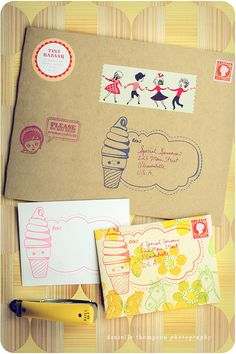 Happy Mail Clear Stamp Collection