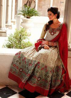 Ishimaya - Designer salwar kameez, Anarkali & frock suits online shopping, Find latest shalwar kameez designs for women online with Global Shipping. Shop now! Indian Party Wear, Indian Wedding Outfits, Indian Outfits, Indian Clothes, Indian Wear, Abaya Fashion, India Fashion, Asian Fashion, Anarkali Lehenga