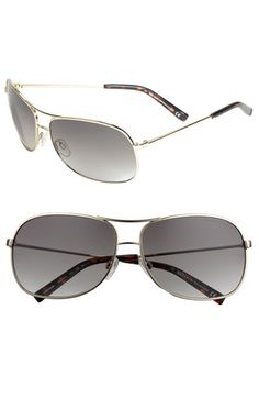 4526f07a54f AX Armani Exchange Metal Aviator Sunglasses available at  Nordstrom Mens  Fashion Wear