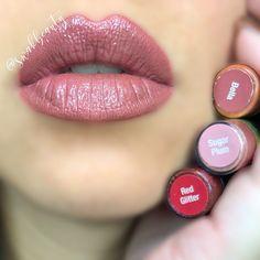 lip colors for girls Plum Lipsense, Lipsense Lip Colors, Lip Gloss Colors, Rihanna, Lip Sence, Kiss Beauty, Senegence Makeup, Senegence Products, Best Lipsticks