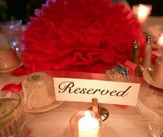 Wedding Tissue Paper Pom Poms - 100 Reception Decorations - Wedding Centerpieces - Tissue Paper PomPoms - Your Colors. $250.00, via Etsy.