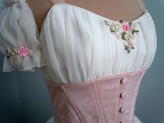 Peasant Bodice. I love the details!