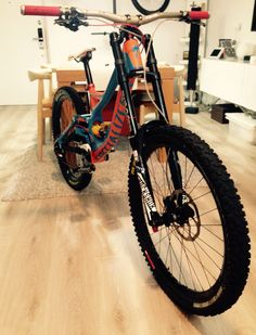 demo 8 2014 with Ohlins suspension