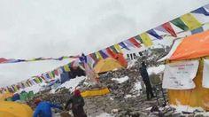 Avalancha en el Everest