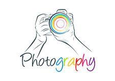 Camera Logo, Photography Concept Design Stock Vector - Illustration of element, arms: 70136032 Photography Creation Logo, Photography Logo Design, Photography Business, Creation Logo Png, Girl Watercolor, Camera Drawing, Wedding Album Design, Camera Logo, Photographer Logo