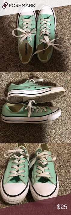 Ladies Sneakers Mint Green Sneakers Converse Shoes Sneakers