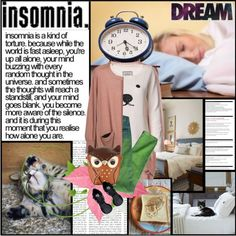 """insomnia"" by chareznasheer on Polyvore"