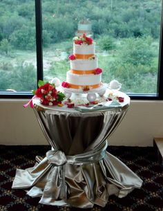 Wedding Cake Table Tablecloth