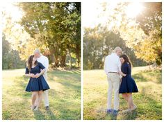 A Whimsical Engagement Session at Cedarock Park | Michelle Robinson Photography