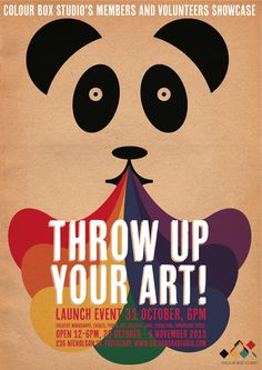 Throw Up Your Art Poster