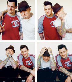 Joel & Benji Madden my middle school heart will love them forever. @Molly Simon Horn