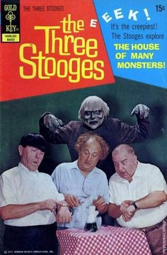 The House of Many Monsters || comic | the three stooges