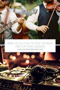 DJ - How to Pick the Right One for Your Wedding - Wedding Ceremony Music, Wedding Songs, Wedding Dj, Plan Your Wedding, Budget Wedding, Wedding Ideas, Wedding Venues, Wedding Inspiration, Wedding Dress Preservation