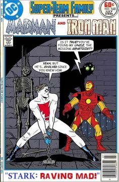Super-Team Family: The Lost Issues!: Madman and Iron Man