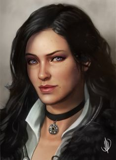 Yennefer of Vengerberg, John Dimayuga on ArtStation at https://www.artstation.com/artwork/4kmRL