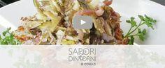Insalata di carciofi e pecorino sardo