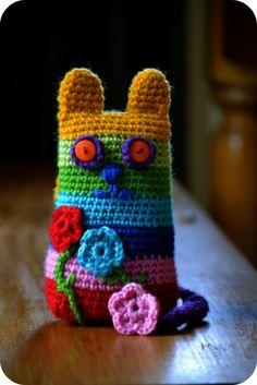Crochet Cat 1