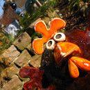Gartenkugeln und kreative Gartenstelen bei DaWanda online kaufen
