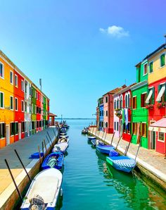 Canal in Burano island, Venice, Italy | 10 Amazing Photos of Venice, the City Blessed with Eternal Love
