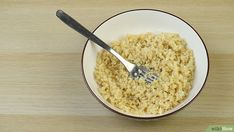 Vegan Vegetarian, Vegetarian Recipes, Puffed Quinoa, How To Cook Quinoa, Couscous, Macaroni And Cheese, Oatmeal, Baking, Breakfast