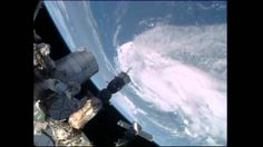 Space Station Cameras and Crew Capture Views of Tropical Storm Arthur