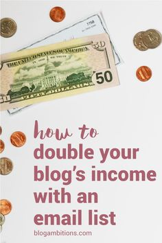 Blogger Cassidy Tuttle shares how she more thand DOUBLED her blog's income by setting up a newsletter autoresponder.
