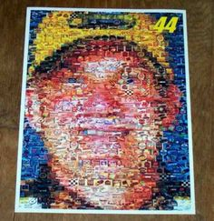 Amazing #44 Dale Jarrett NASCAR Montage. 1 of only 25