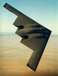 """❖ November 22, 1988 ❖  In the presence of members of Congress and the media, the Northrop B-2 """"stealth"""" bomber is shown publicly for the first time at Air Force Plant 42 in Palmdale, California. Designed with stealth characteristics that would allow it to penetrate an enemy's most sophisticated defenses unnoticed, at the time of its public unveiling, the B-2 had not even been flown on a test flight."""