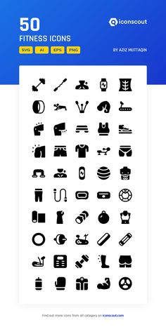Fitness  Icon Pack - 50 Glyph Icons Chart Tool, Fitness Icon, Box Icon, Art Web, Glyph Icon, Png Icons, Frame Clipart, Pictogram, Icon Pack