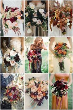 Fall Bouquets for Autumn   Brides Bridal Musings Wedding Blog #fallbouquet #autumnbouquet #fallwedding