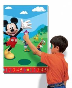 Gra na kinderbal w stylu Myszki Mickey