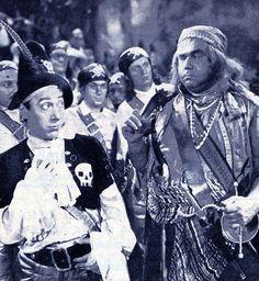 """Erminio Macario nel film """"Il pirata sono io!"""""""