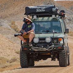 Custom Land Cruiser 40 series - Built to Order Toyota 4x4, Toyota Trucks, Jeep 4x4, Jeep Truck, Fj Cruiser, Toyota Land Cruiser, Land Cruiser 70 Series, Expedition Vehicle, Japanese Cars