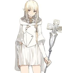 圖片 Dnd Characters, Fantasy Characters, Female Characters, Fantasy Girl, Character Creation, Character Concept, Weiblicher Elf, Vestidos Anime, Anime Elf