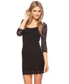 Forever 21 Lace Scoop Neck Dress, super cute!!  Perhaps for my aunt & uncle's anniversary party?