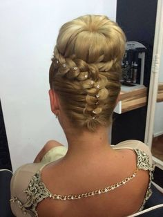 Gorgeous braided bun