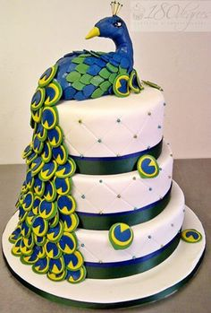 180 Degrees Catering and Confectionery Peacock Cake, Peacock Design, Confectionery, A Food, Catering, Bakery, Phone, Desserts, Tailgate Desserts