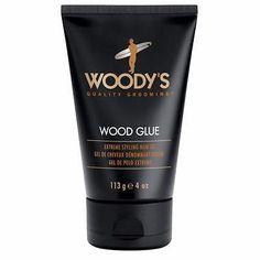 Woody's Wood Glue Extreme Styling Hair Gel 4oz